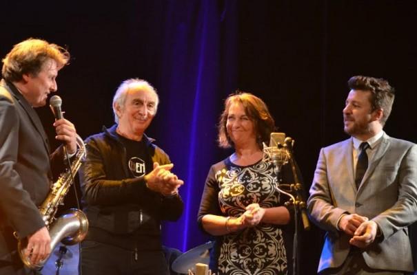 5 février : Xavier Richardeau, Christian Queyroix, Françoise Mesnard et Bruno Guillon