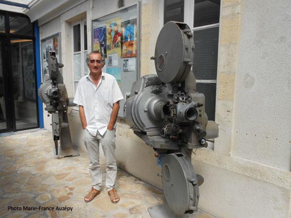 Le directeur, Philippe Chagneau, dans l'avant-hall de l'Eldorado