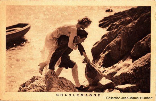 Carte publicitaire 1934