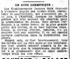 Le Petit Parisien, 19 juin 1925