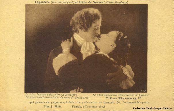 Carte postale distribuée au Louxor (1925)