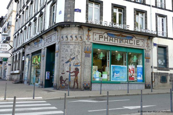La pharmacie Léon Gros en 2014.