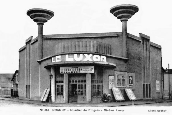 Carte postale représentant Le Luxor de Drancy. Cliché Godneff (collection privée)